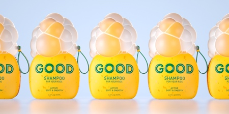 Shampoo Bubbles Packaging