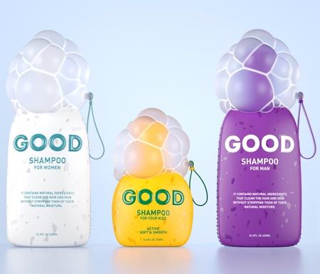 Good Shampoo Packaging
