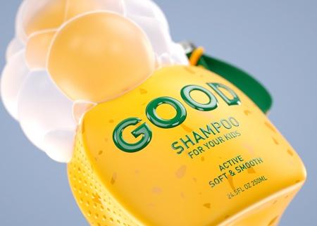 Constantin Bolimond Shampoo Packaging