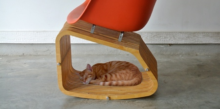 Human Cat Rocking Chair