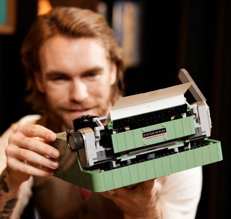 Official LEGO Typewriter