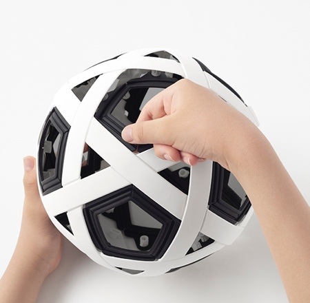 Non-inflatable Football