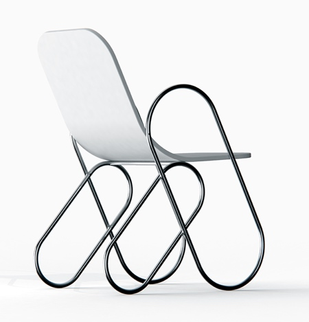 Andrew Edge Paper Clip Chair