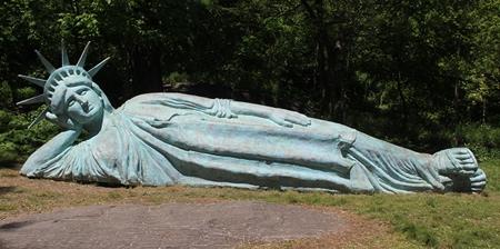 Reclining Statue of Liberty