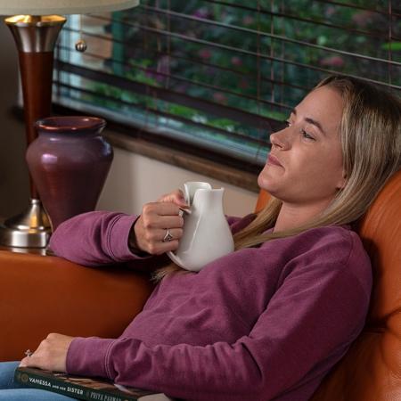 Lying Down Coffee Mug