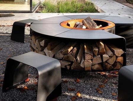 Modern Outdoor BBQ Grill