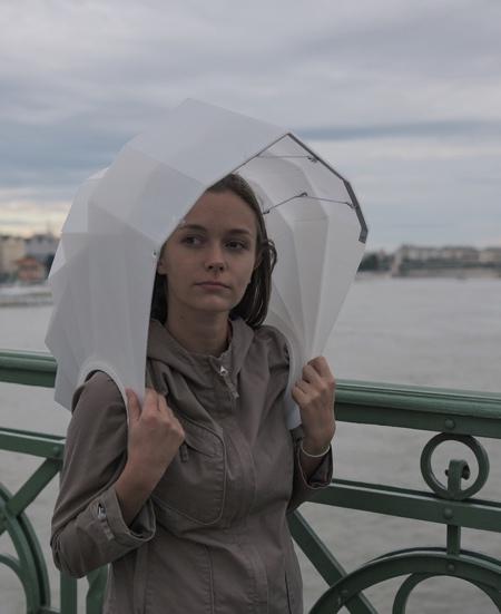 Shell Inspired Umbrella
