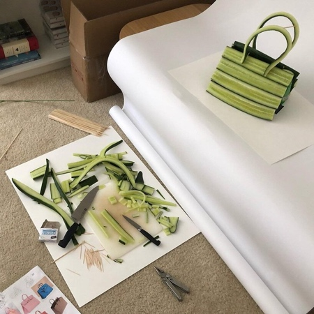 Vegetable Handbag