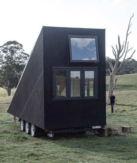 A-Frame House on Wheels