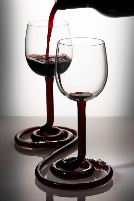 Linked Wine Glasses