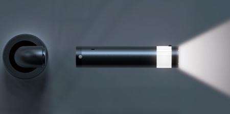 Flashlight Door Handle