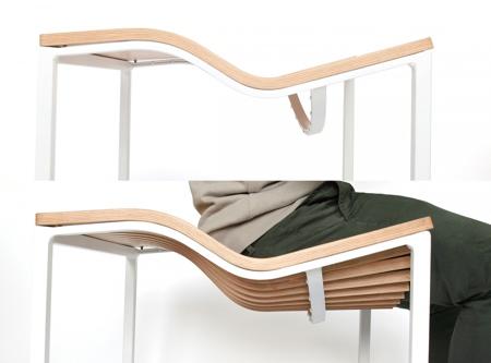 Flexible Wooden Chair