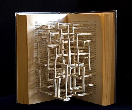 3D Book Sculptures