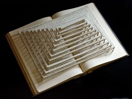 Stephen Doyle 3D Book Sculptures