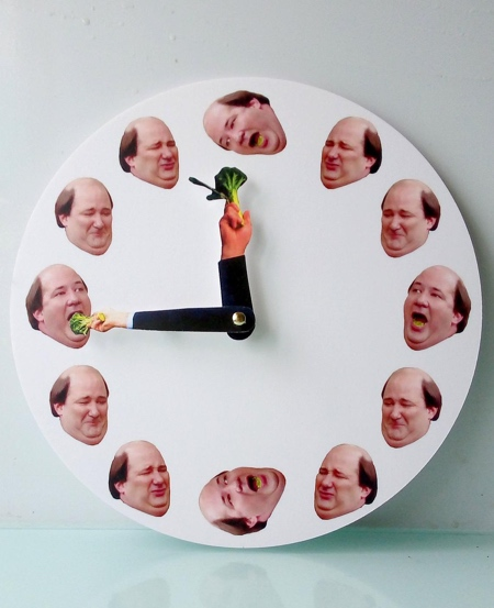 The Office Kevin Clock