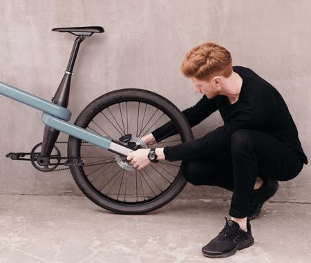 Loop Frame Bicycle