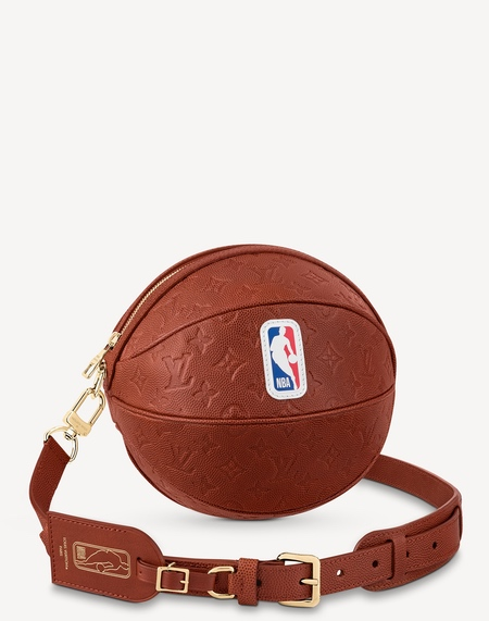 Basketball Shaped Bag