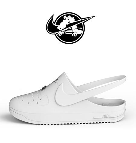 Kegan McDaniel Nike Crocs