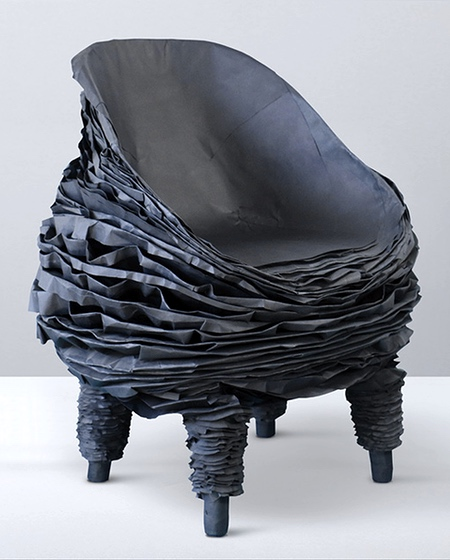 Chair made of Paper