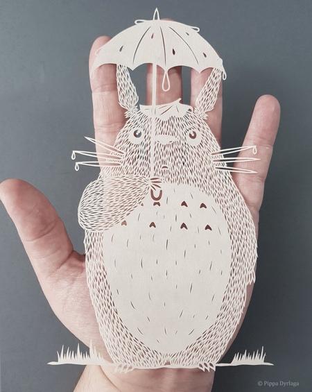 Pippa Dyrlaga Paper Cutting Art