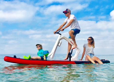 Inflatable Paddleboard Bike