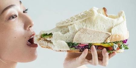 Edible Sneaker Sandwich