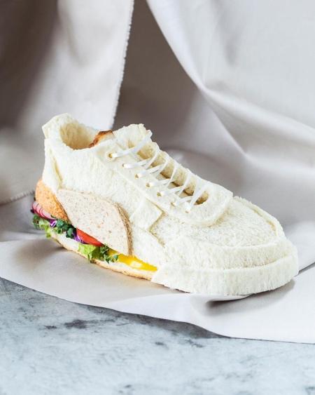 Edible Shoe Sandwich