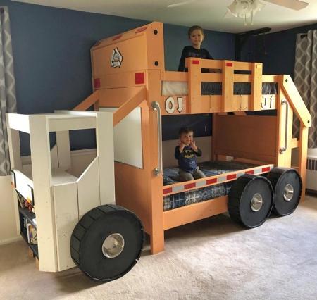 Truck Kids Bed