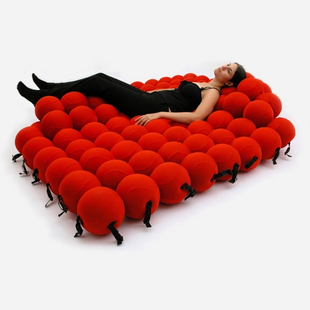 Bed Made out of Balls