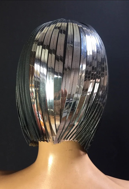 Metal Cleopatra Wig