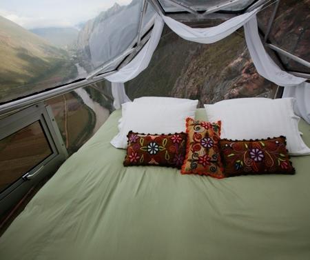 Cliffside Hotel Room