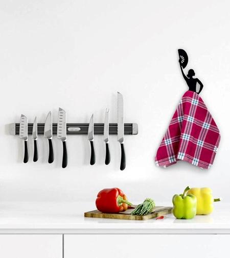 Dancer Kitchen Towel Holder
