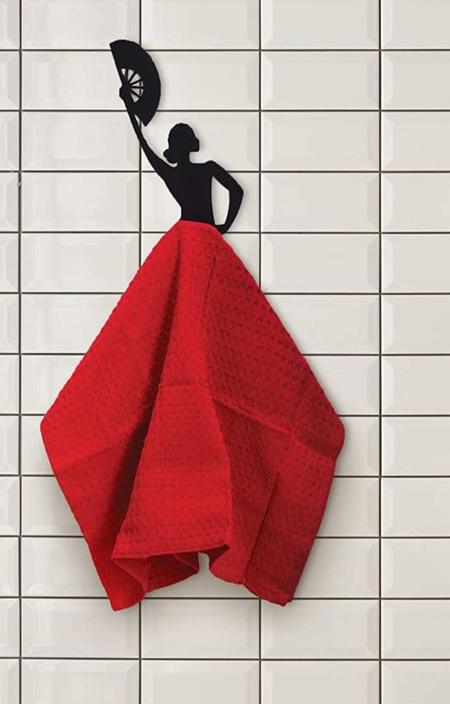 Dancer Towel Holder