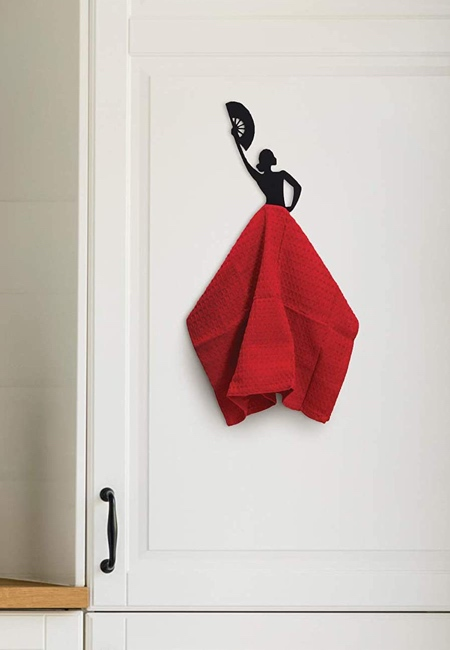 Spanish Flamenco Dancer Kitchen Towel Holder