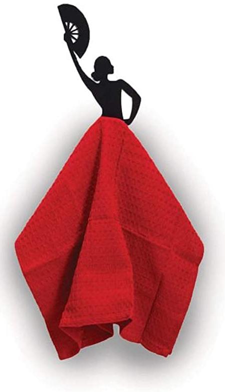 Flamenco Dancer Kitchen Towel Holder