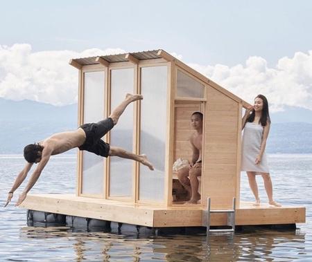 Sauna on Water