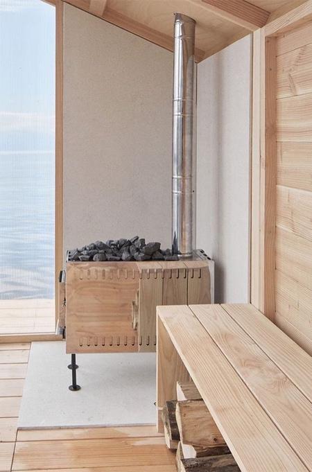 Trolle Rudebeck Haar Floating Sauna