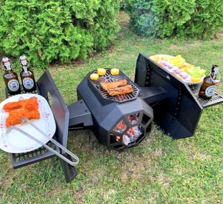 TIE Fighter Barbecue Grill