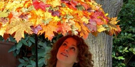 Autumn Leaves Umbrella