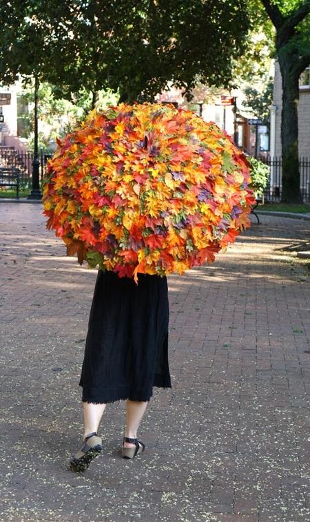 Fall Leaves Umbrella