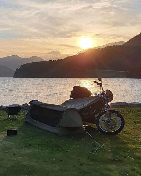 Motorcycle Camping System
