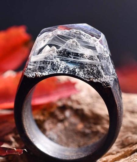Secret Wood Rings