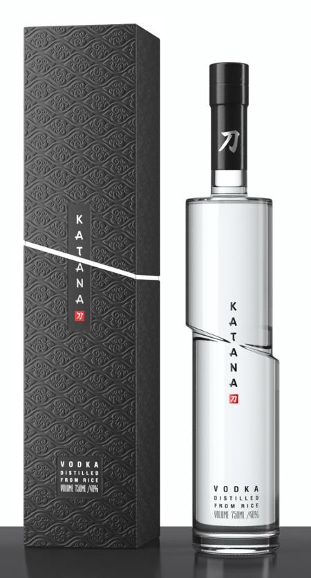 KATANA Vodka Bottle