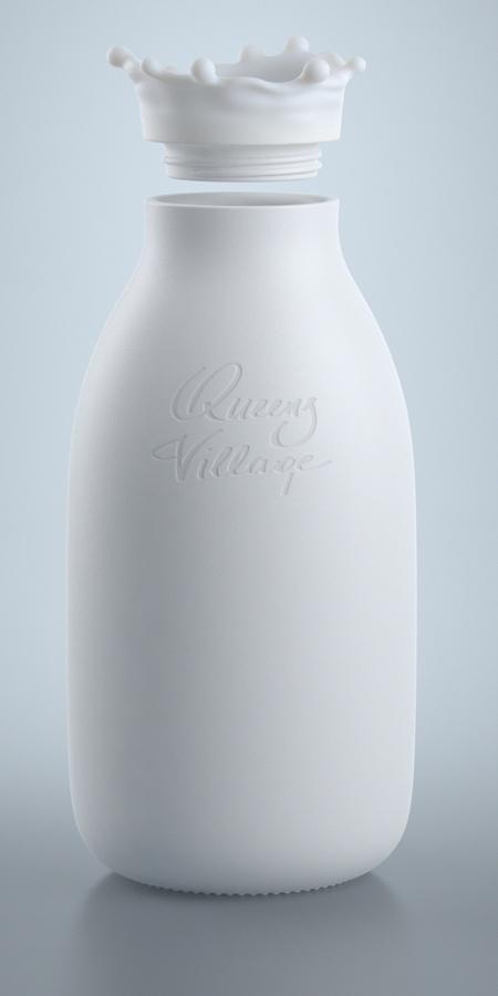 Milk Splash Bottle