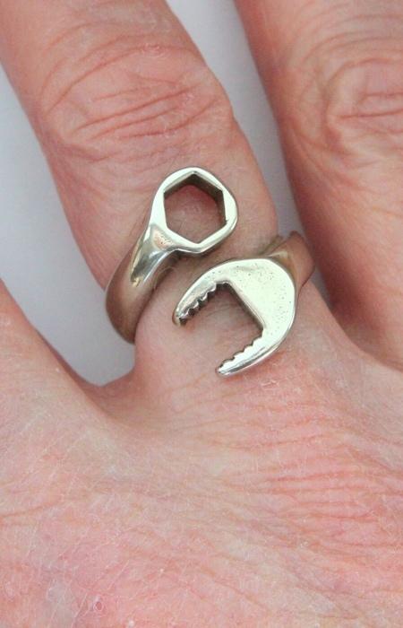 Wrench Finger Ring
