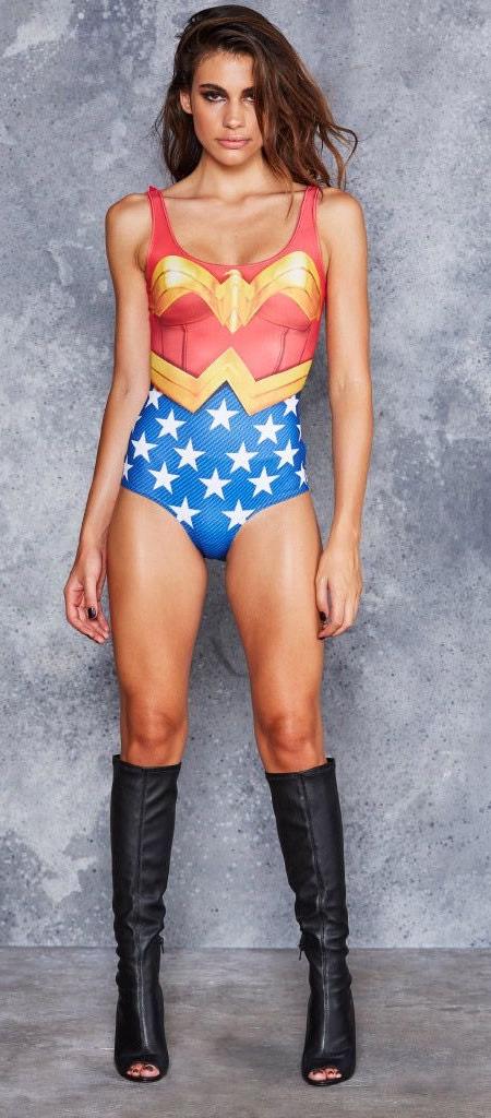 Wonder Woman Swim Suit