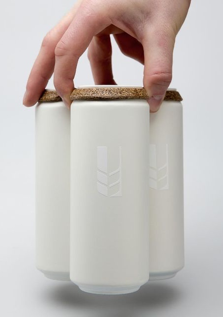 Biodegradable Beer Can Packaging