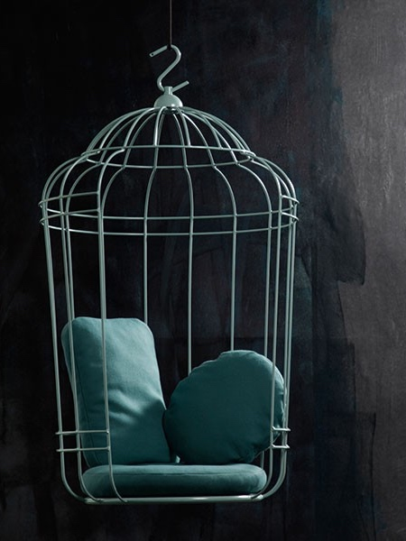 Swinging Birdcage Chair
