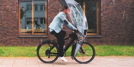 Bicycle Rain Shield