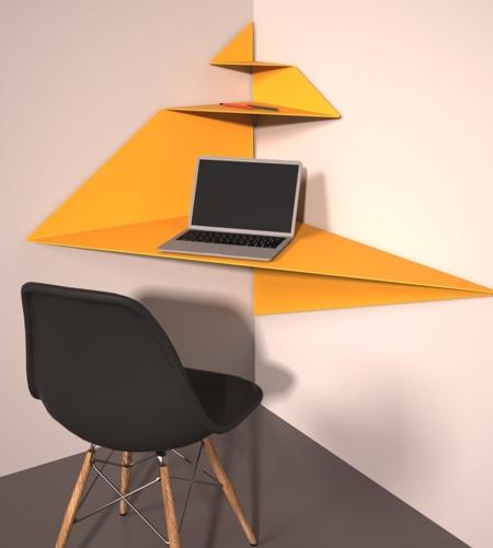 MEANDER Corner Desk
